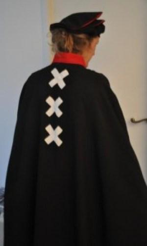 Het tenue van genootschap 't Paaltje.
