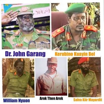 Commemorating the 33rd Anniversary of the Founding of the People's Revolutionary Movement—the SPLM/SPLA