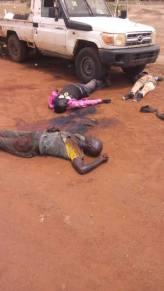 Victims of the Bor-Juba Road ambush, killed near Jemeiza on 6 May 2017