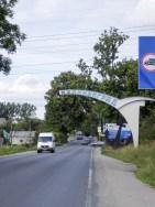 Einfahrt Kaliningrad