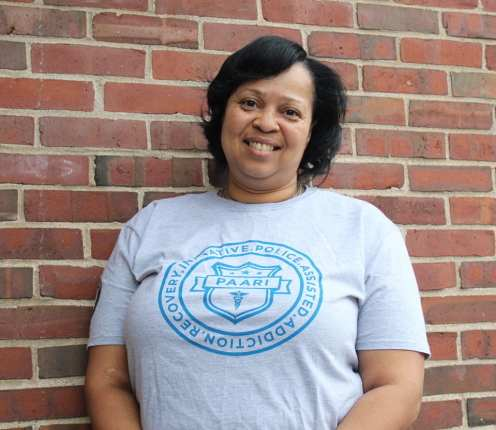 Ursel Hughes, Recovery Coach at Boston Police Department