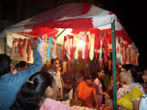 Last minute Rakhi shopping.