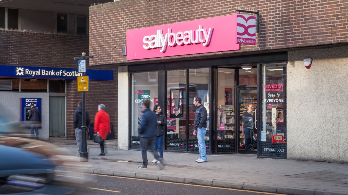 Sally Beauty-World's largest distributor and retailer of professional beauty products