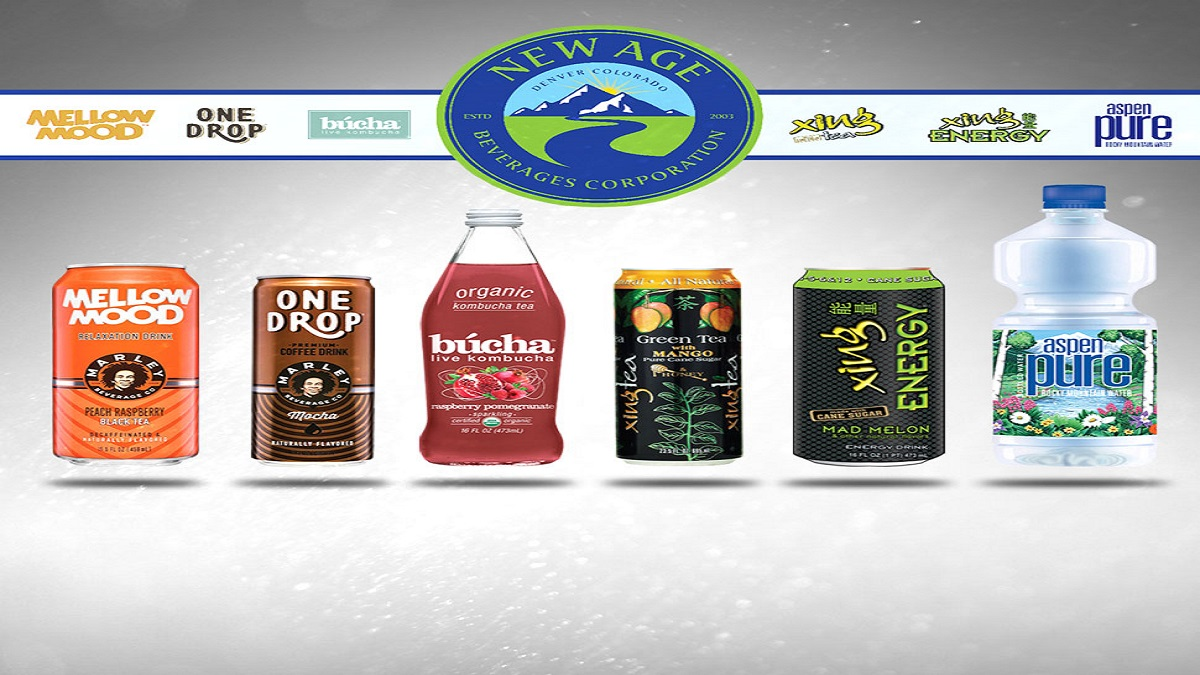New Age beverages for USA and CANADA
