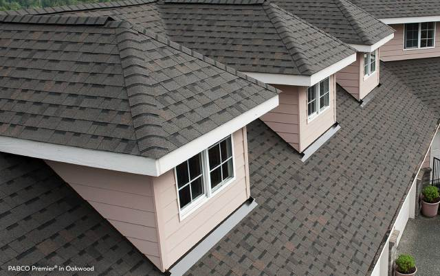 PABCO roofing products on a house