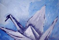 Paper Crane. Prabhakara Jimmy Quek. Artists in Singapore.