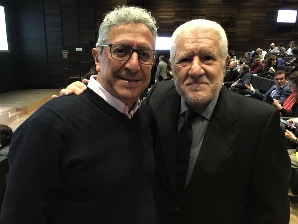 Luis Bassat y Vicente Palomares