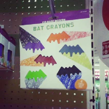 Bat Crayons