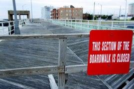 Boardwalk Closed
