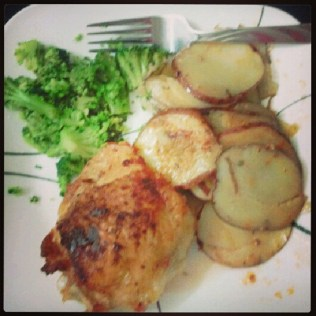 Crispy Chicken and Potatoes