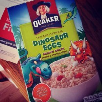 Dinosaur Egg Oatmeal