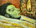 Pablo Picasso blue period - the death of Casagemas