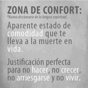 que es zona de confort