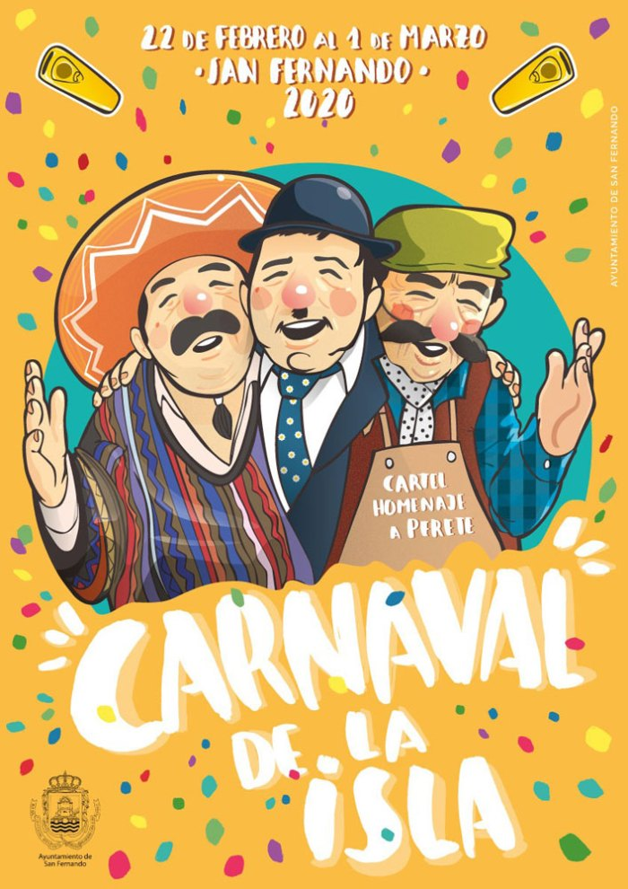 cartel carnaval la isla