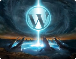 Wordpress, image taken from: http://www.mangoorange.com/2008/09/16/7-requirements-when-designing-wordpress-theme/