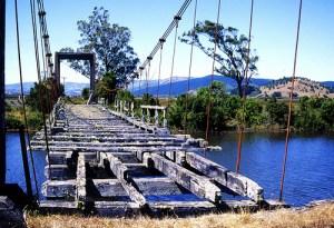 Broken bridge, picture by Ghost V