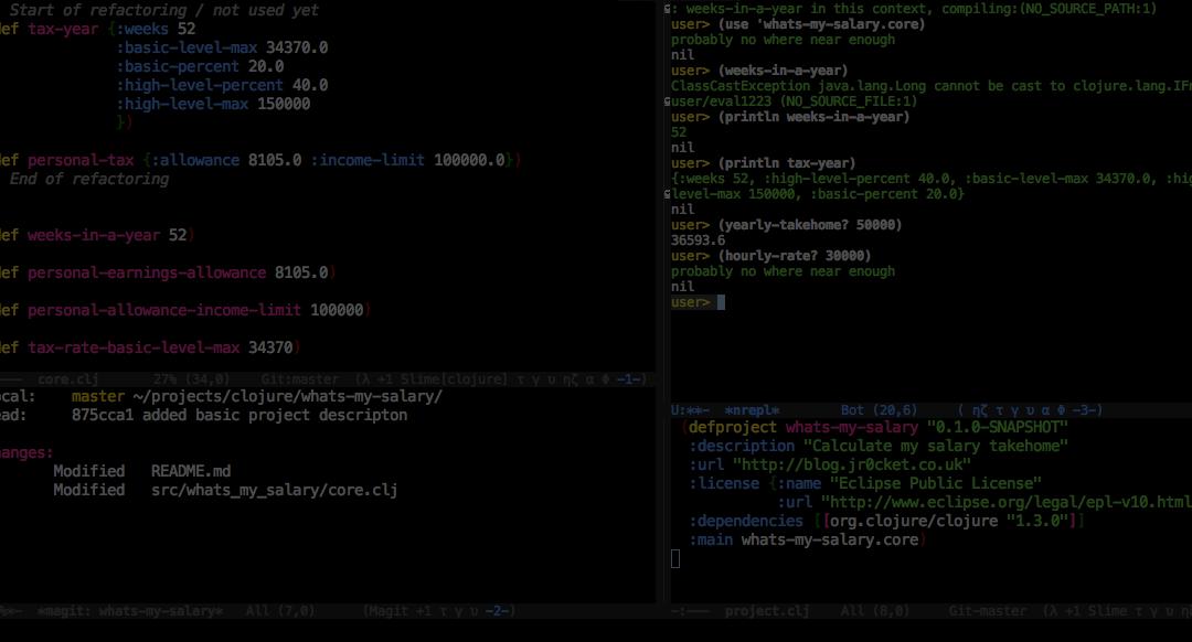 Emacs is hurting Clojure