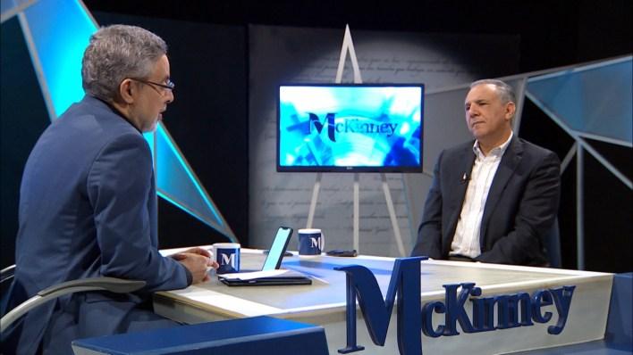 Pablo Mckinney y José Ramón Peralta