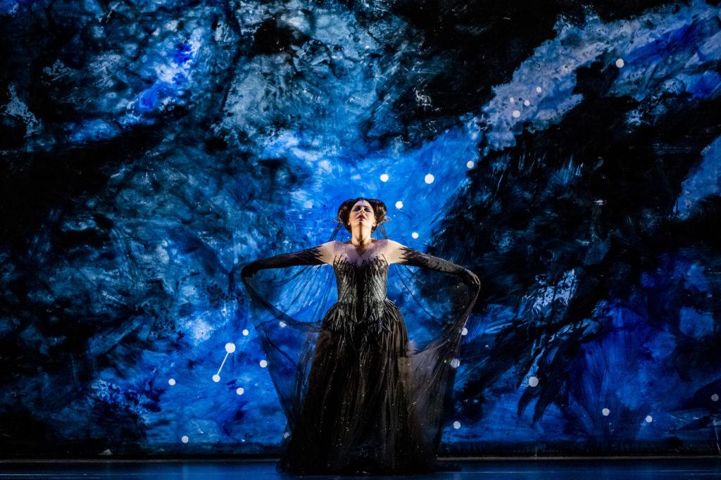 Tuuli Takala as The Magic Flute's Queen of the Night (Tristram Kenton)