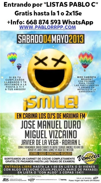 SmileLaRiviera4Mayo
