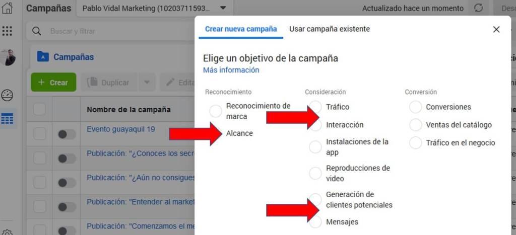 Configuración de anuncios en Facebook Business Manager
