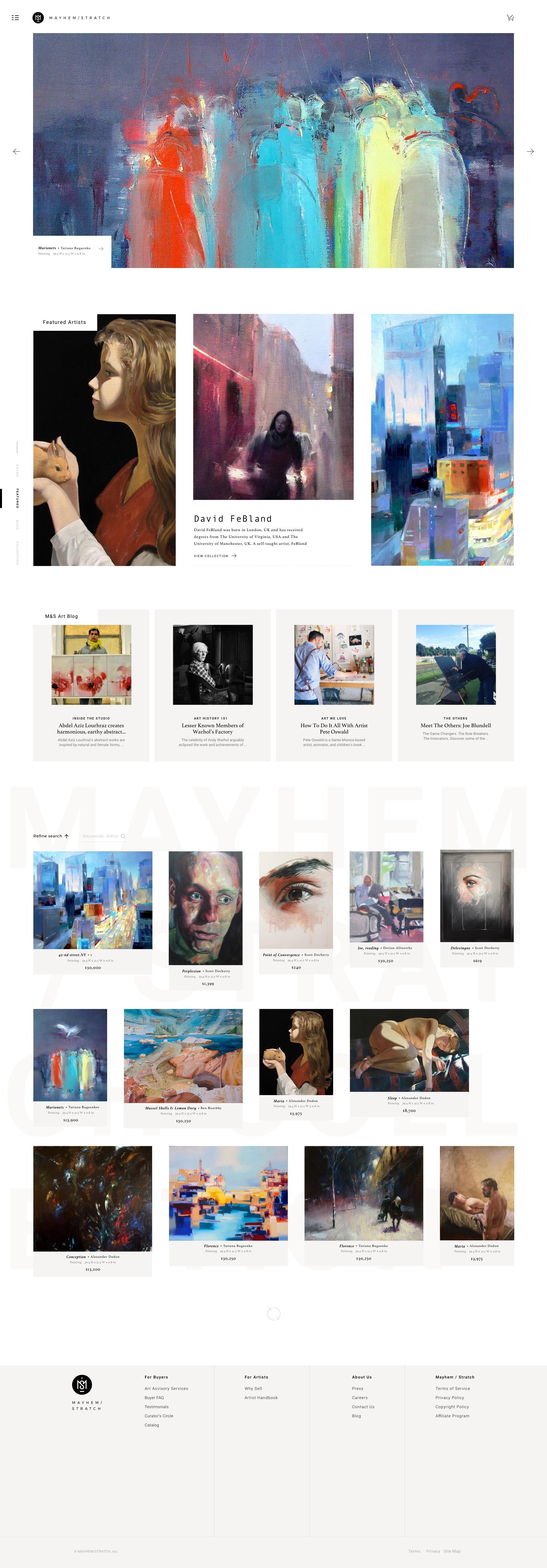M&S Homepage