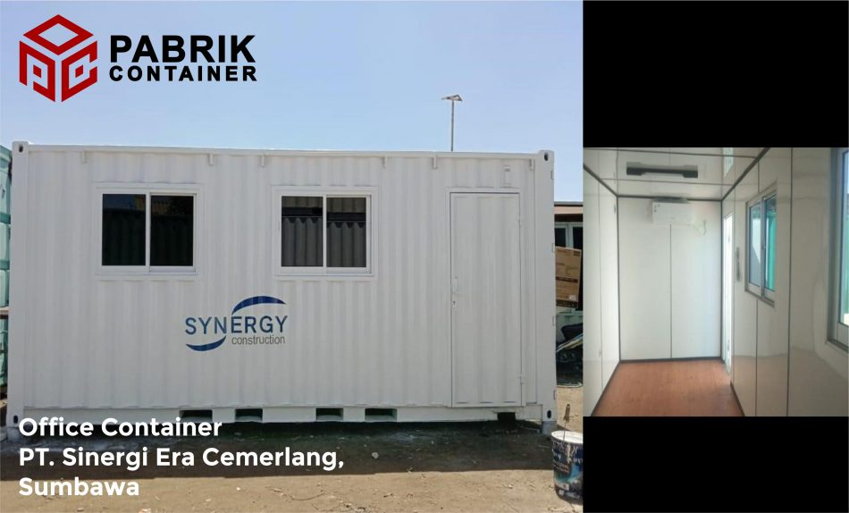 Jual office container kualitas bagus