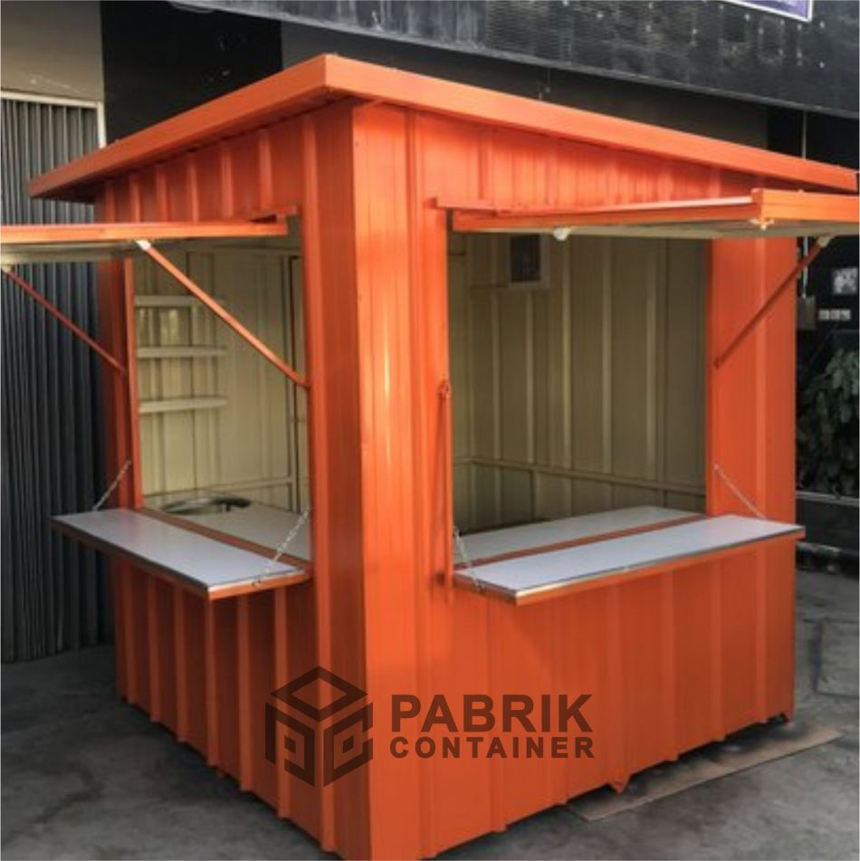 jual booth container murah