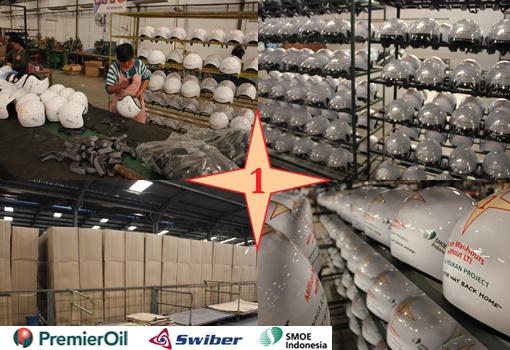 slide pembuatan helm permiere oil