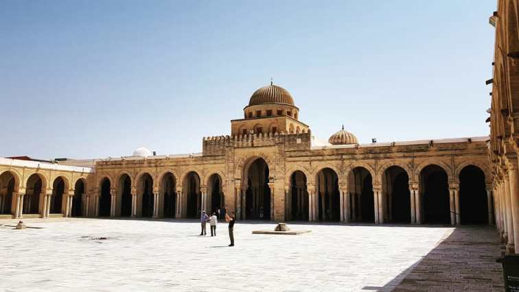 Masjid Tertua di Tunisia - Masjid Uqbah bin Nafi