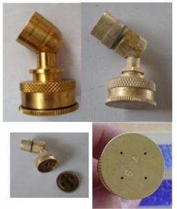 Knapsack sprayer - nozzle lubang empat
