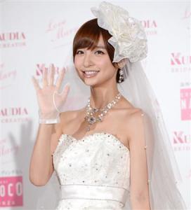 篠田麻里子結婚