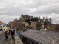 The castle, Schloss Dhaun