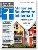 Finanztest Widerruf Darlehn Kreditvertrag