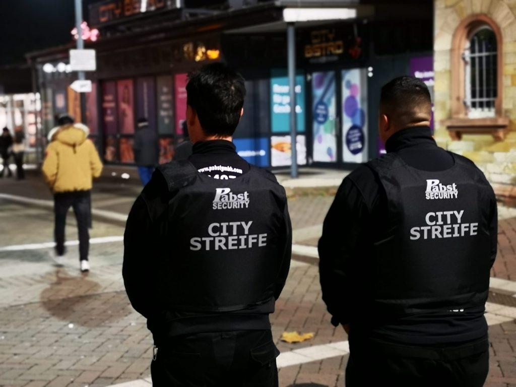 Pabst Security im Einsatz für Ihre Sicherheit