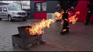 Brandschutzschulung bei Pabst-Security