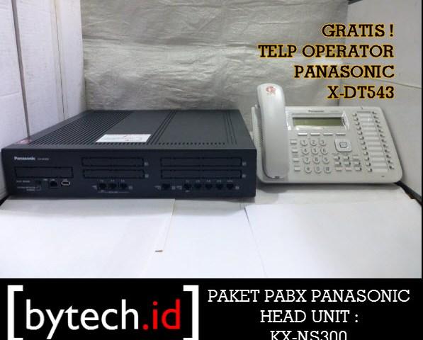 PAKET PABX PANASONIC KX-NS300 32 EXT HARGA TERBAIK DI BANDUNG