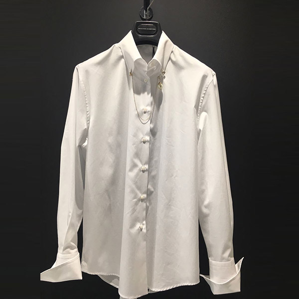 Camisa popelin joya Ermanno Scervivo