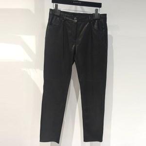 Pantalón piel 5 bolsillos barbara bui
