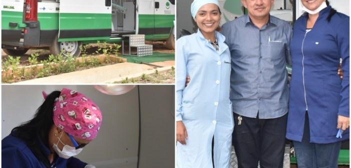 Prefeitura de Pacajá ativa o Odontomóvel que há anos estava parado em nosso Município