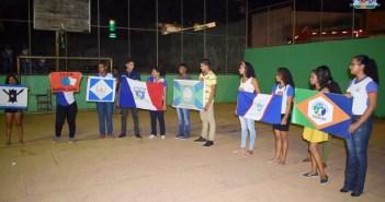 Na noite desta segunda feira (13) a Escola Aluísio Loch fez a escolha da bandeira que irá representar a instituição