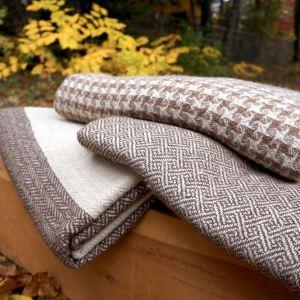 Maine Alpaca Blanket - 3 Designs