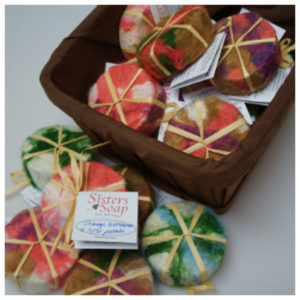Felted Sisters Soap