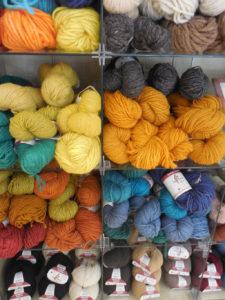 buying local yarn