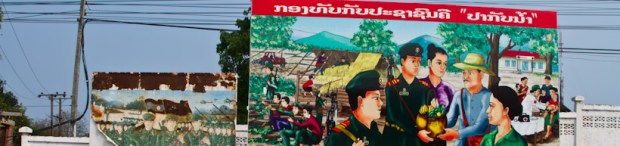 Billboard In Thakhek