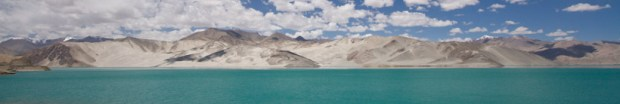 Some dam/lake on the Karakorum highway