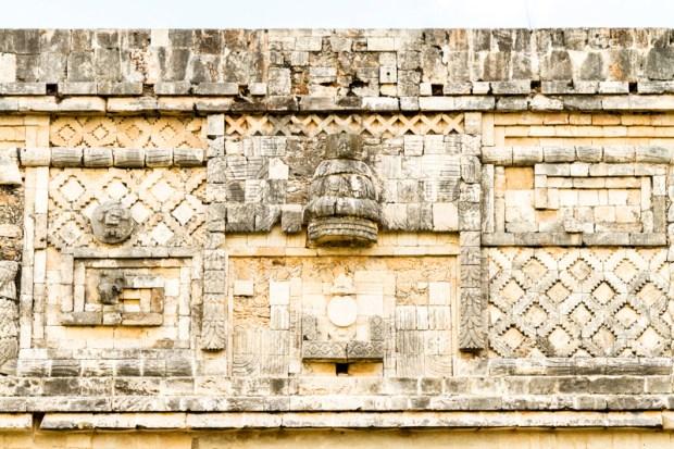 Mayan architecture at Uxmal