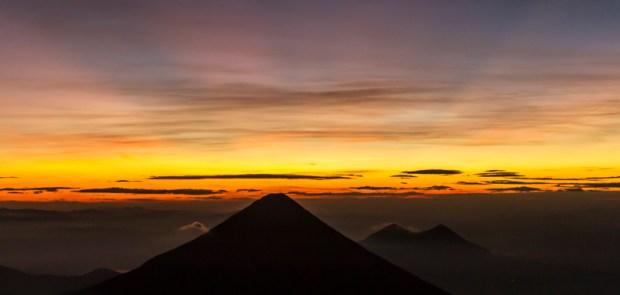 Sunrise on Acatenango