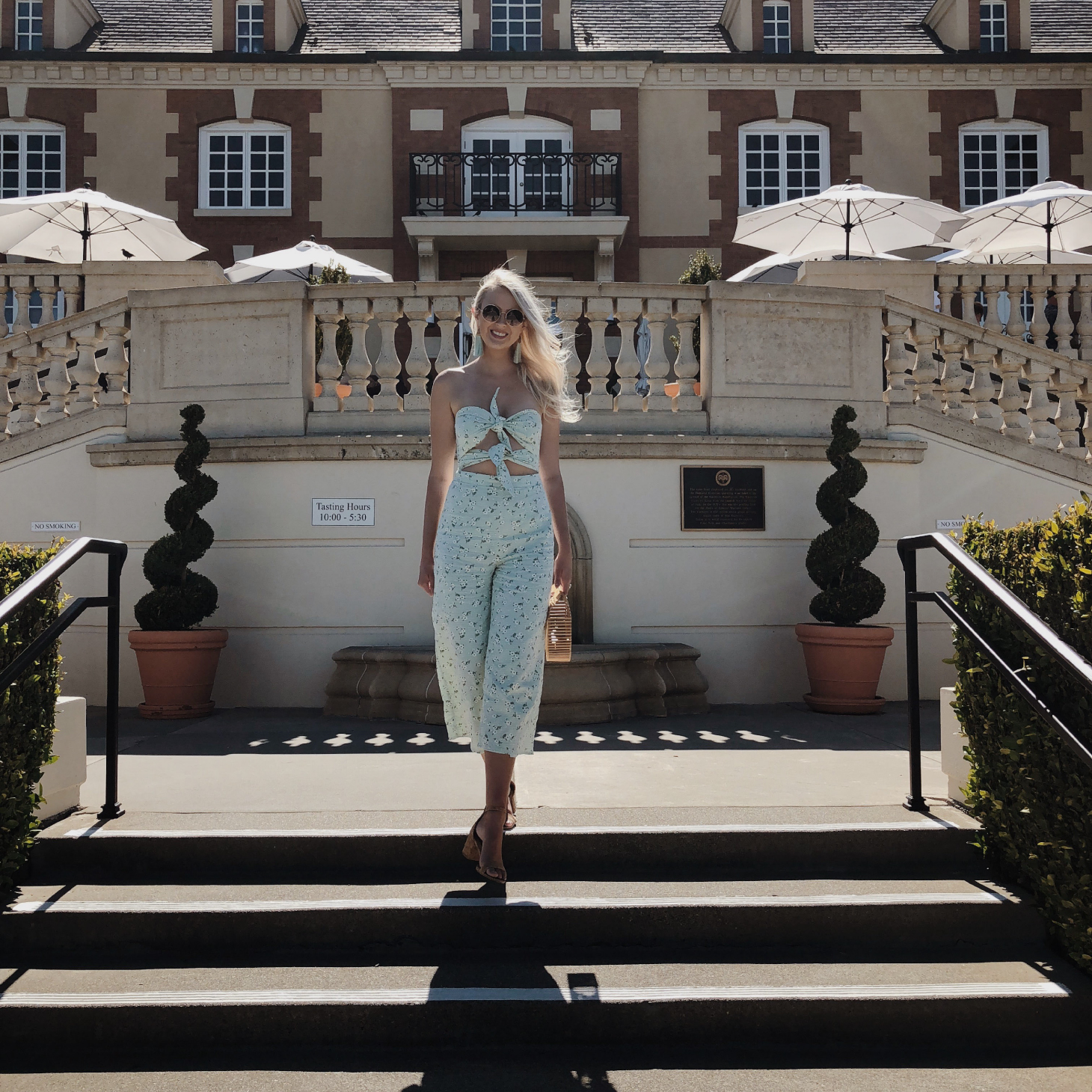 what I wore in napa valley