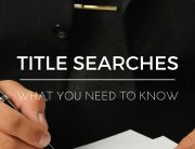 TITLE SEARCHES - what you need to know - atlanta hard money loan
